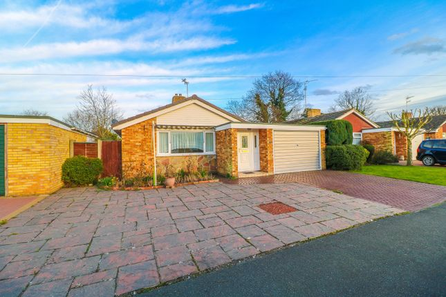 Thumbnail Detached bungalow for sale in Lucerne Road, Elmstead, Colchester