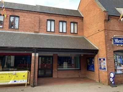 Retail premises to let in Unit 2, Church Street, Lutterworth, Leicestershire