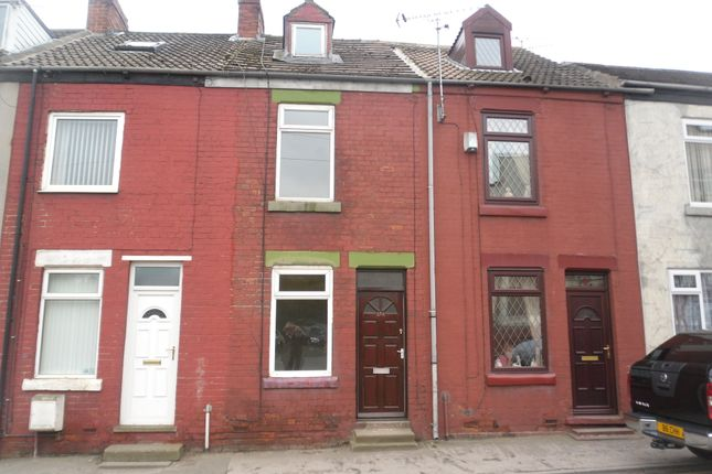 Thumbnail Terraced house to rent in Barnsley Road, South Elmsall