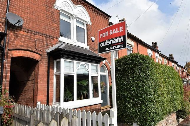 Thumbnail Terraced house for sale in Franklin Road, Bournville, Birmingham