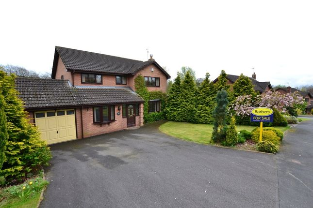 Thumbnail Detached house for sale in Brookfield, Loggerheads, Market Drayton