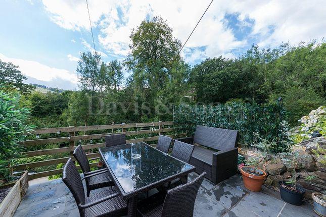 Front Garden of Hafod Tudor Terrace, Wattsville, Cross Keys, Newport. NP11