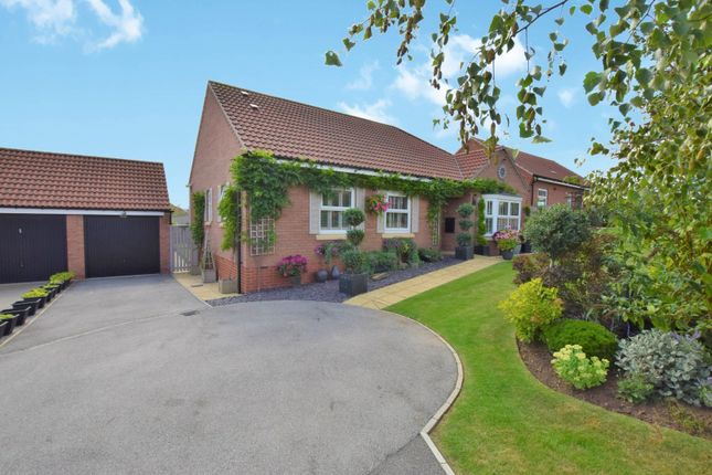 Thumbnail Detached bungalow for sale in West Garth, Cayton, Scarborough