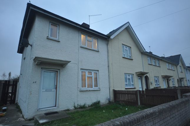 Thumbnail End terrace house to rent in Thistle Road, Gravesend