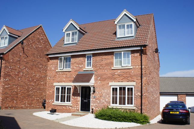 Thumbnail Detached house to rent in Musselburgh Way, Bourne, Peterborough
