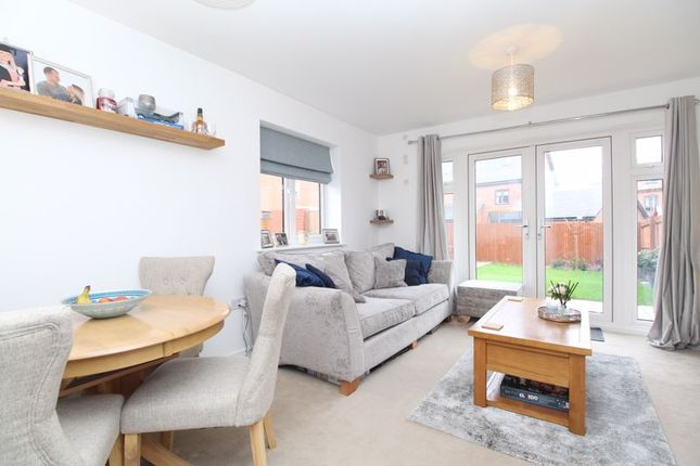 Thumbnail End terrace house for sale in Gillspenny Way, Wootton