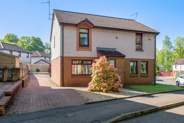 Thumbnail Semi-detached house for sale in Springfield Park, Johnstone, Renfrewshire, .