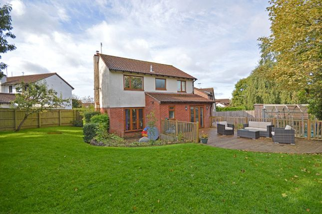 Thumbnail Detached house for sale in Fulford Way, Woodbury, Exeter