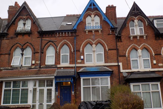 Thumbnail Shared accommodation to rent in Holly Road, Handsworth