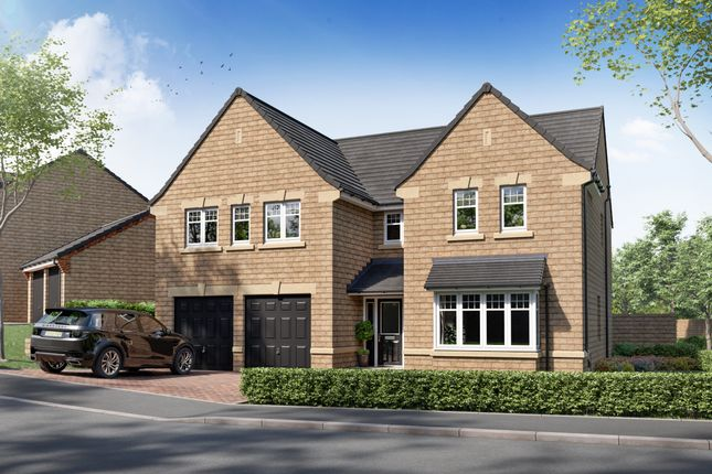 "5 bed detached house for sale in ""Plot 13 - The Dunstanburgh"" at Crofters Green, Killinghall, Harrogate HG3"