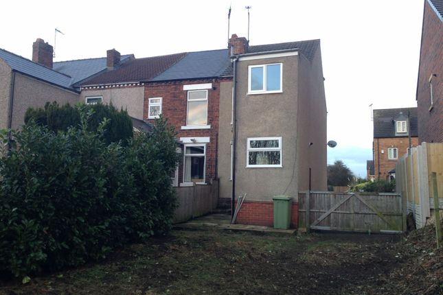 Thumbnail End terrace house to rent in Pilsley Road, Danesmoor, Chesterfield