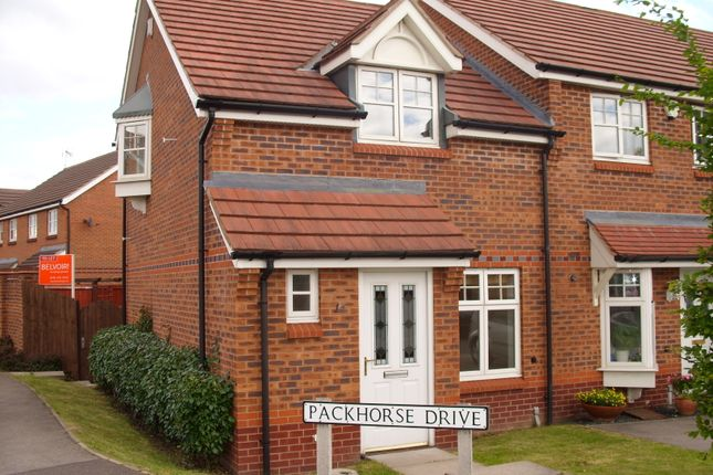 Thumbnail Semi-detached house to rent in Packhorse Drive, Enderby, Leicester