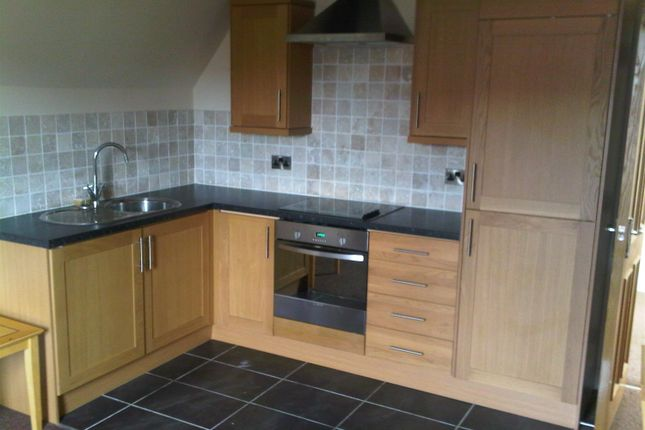 Thumbnail 2 bed flat to rent in Gladstone Road, Chesterfield
