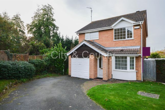 Thumbnail Detached house for sale in Catherine Close, Orton Longueville, Peterborough