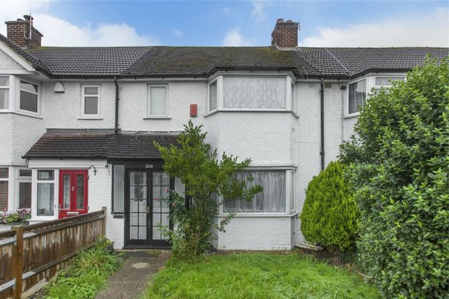 Thumbnail Terraced house to rent in Clyfford Road, Ruislip, Greater London