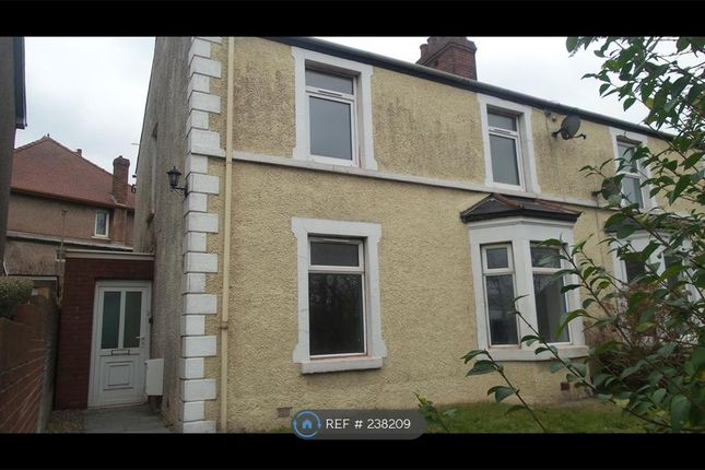 Thumbnail Semi-detached house to rent in Tanygroes Place, Taibach