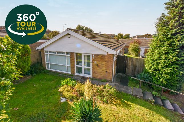 Thumbnail Detached bungalow for sale in Severn Road, Oadby, Leicester