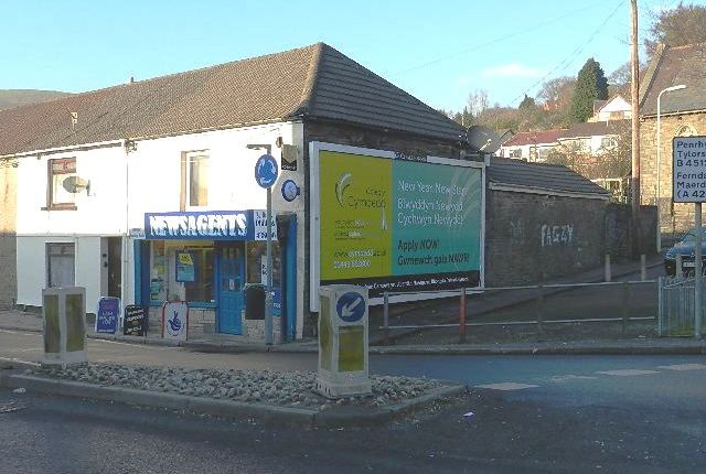 Retail premises for sale in Going Concern Off Licence & Newsagents, Mid Rhondda, Ystrad