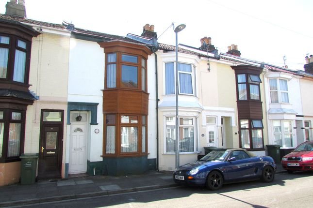 Thumbnail Terraced house to rent in Power Road, Portsmouth, Hampshire