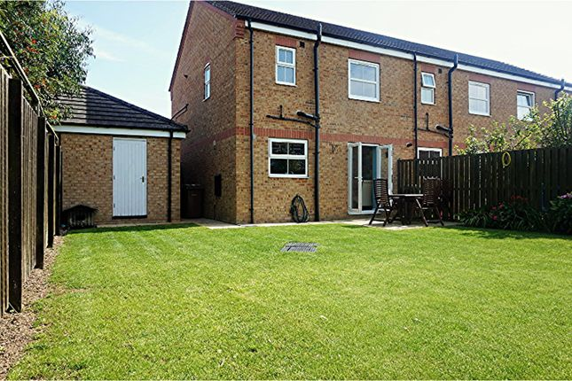3 bed end terrace house for sale in Paddock Court, Withernsea