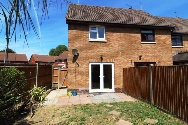 Thumbnail End terrace house to rent in Station Road, Drayton, Portsmouth