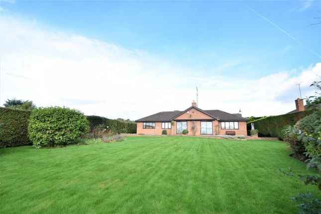 Thumbnail Detached bungalow for sale in Church Farm Court, Heswall, Wirral