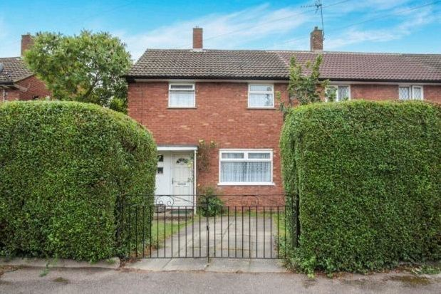Thumbnail End terrace house to rent in Dewsbury Road, Luton