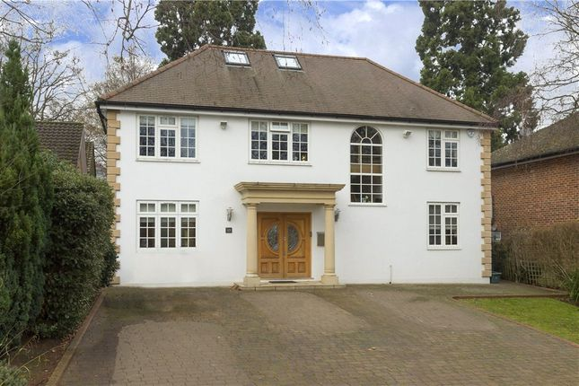 Thumbnail Detached house for sale in Henley Drive, Coombe Hill