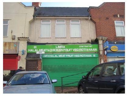 Thumbnail Triplex to rent in Caldwell Road, Bordesley Green, Birmingham
