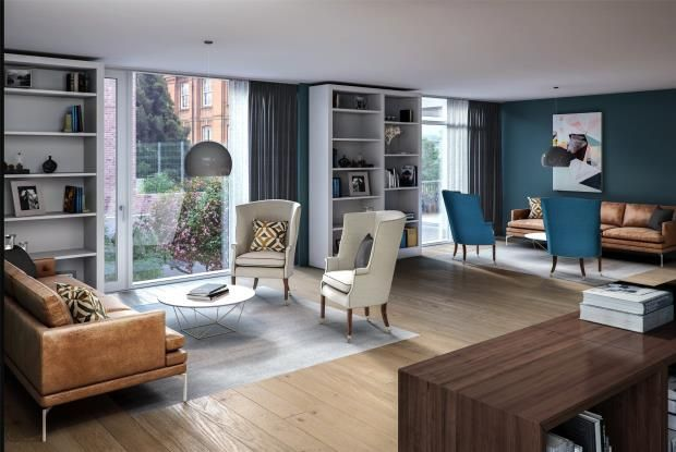 Flat for sale in Hampstead Green Place, Rowland Hill Street, Hampstead, London