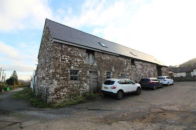 Thumbnail Barn conversion for sale in Llanellen, Abergavenny