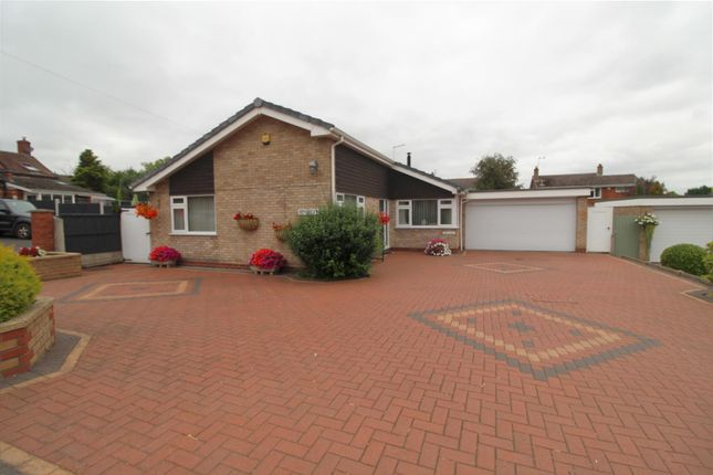 Thumbnail Detached bungalow for sale in Drayton Road, Shawbury, Shrewsbury