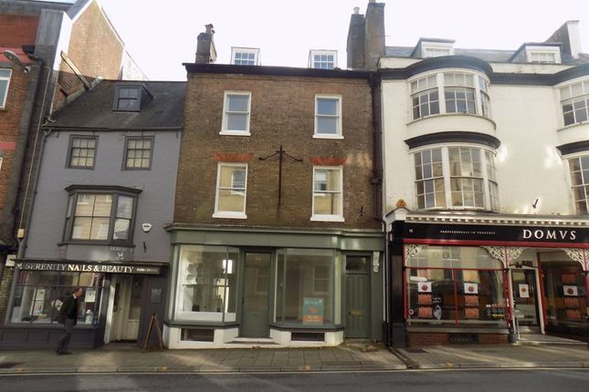 Thumbnail Terraced house to rent in High West Street, Dorchester