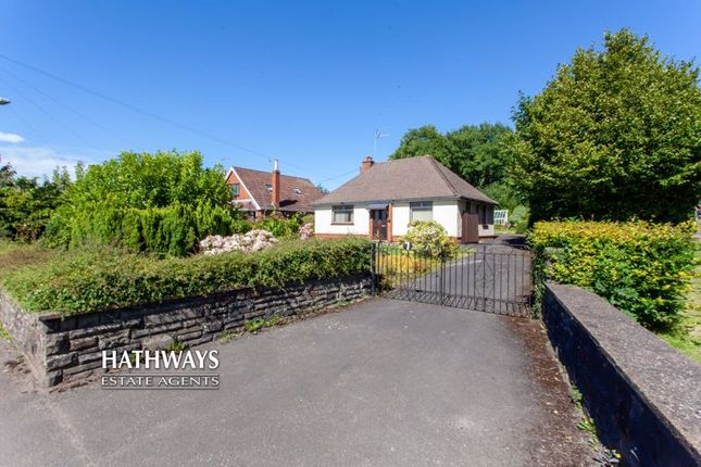 Thumbnail Detached bungalow for sale in 7 Turnpike Road, Croesyceiliog, Cwmbran