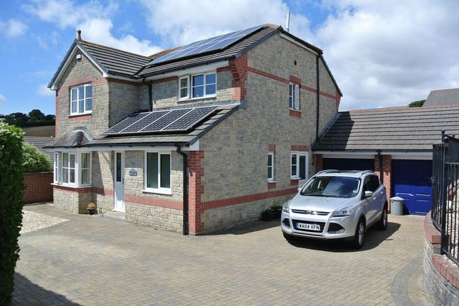 Thumbnail Detached house for sale in Middlefield Close, Latchbrook, Saltash
