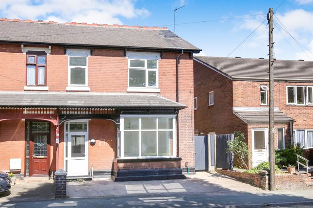 Thumbnail Semi-detached house for sale in Lea Road, Penn Fields, Wolverhampton