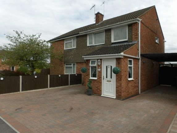 Thumbnail Semi-detached house for sale in Peartree Close, Anstey, Leicester, Leicestershire