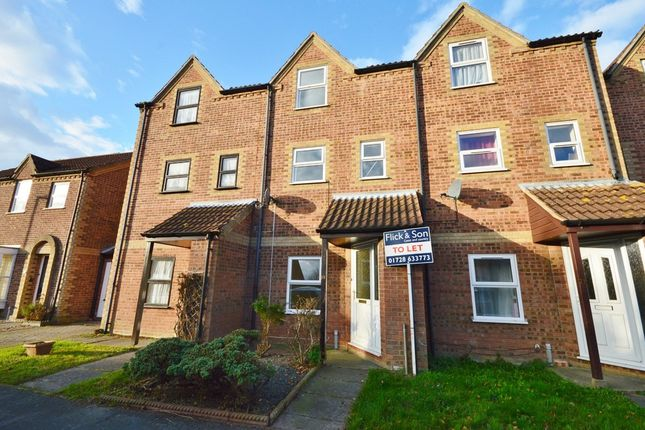 Thumbnail Town house to rent in Old Foundry Place, Leiston