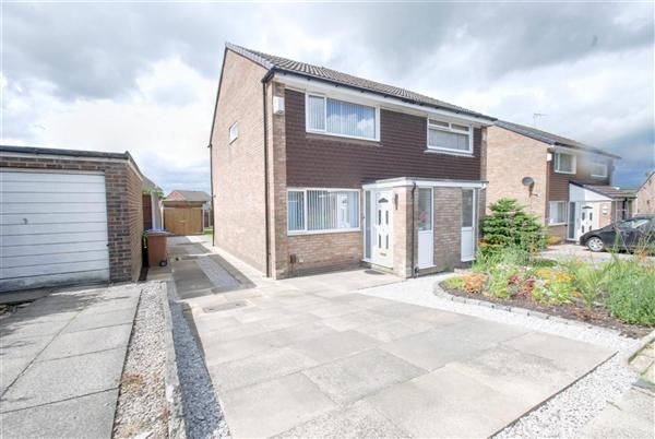 2 bed semi-detached house for sale in Witham Close, Heywood