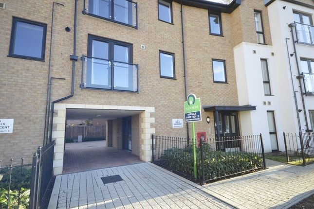Thumbnail Flat for sale in Wills Crescent, Leybourne, West Malling