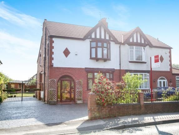 Thumbnail Semi-detached house for sale in Styal Road, Heald Green, Cheadle, Greater Manchester