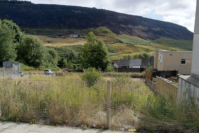 Thumbnail Land for sale in Building Plot Institue Street/Ceridwen Street, Ferndale, Maerdy