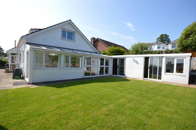 Thumbnail Detached bungalow for sale in Ferndale Road, Teignmouth, Devon