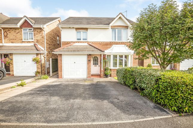 Thumbnail Detached house for sale in Wentworth Grove, Winsford