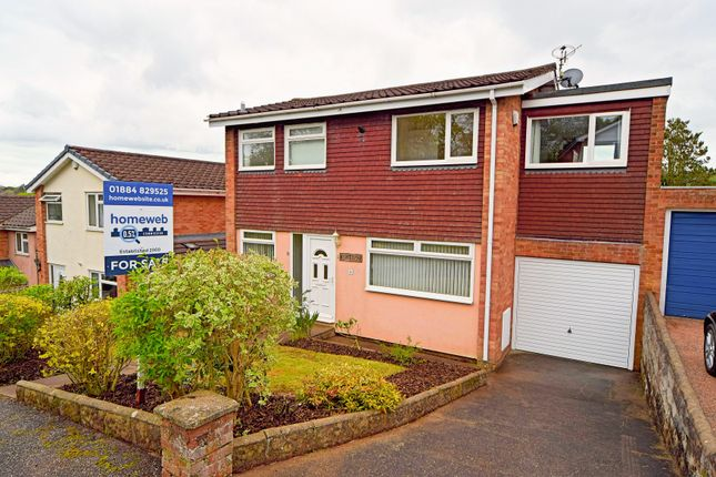 Thumbnail Detached house for sale in Gooding Rise, Tiverton
