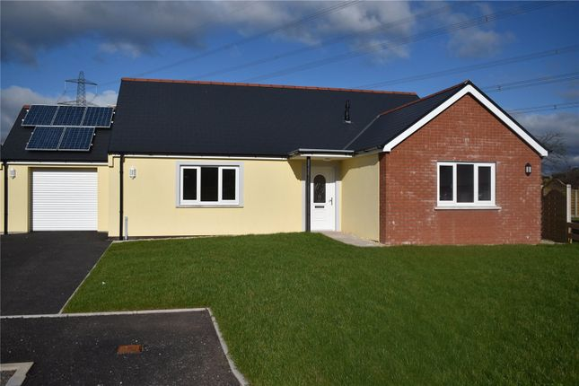 3 bed bungalow for sale in Plot 14, Bowett Close, Hundleton, Pembroke SA71