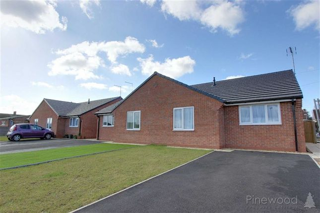 Thumbnail Semi-detached bungalow to rent in Church Row, Church Road, Mansfield, Nottinghamshire