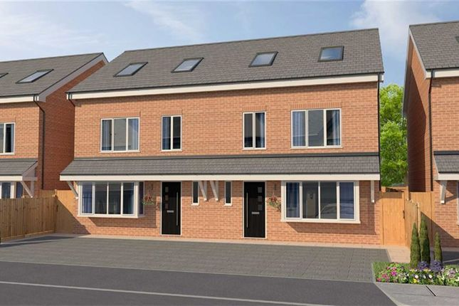 Thumbnail Semi-detached house for sale in Morris Meadow, Whitefield, Manchester