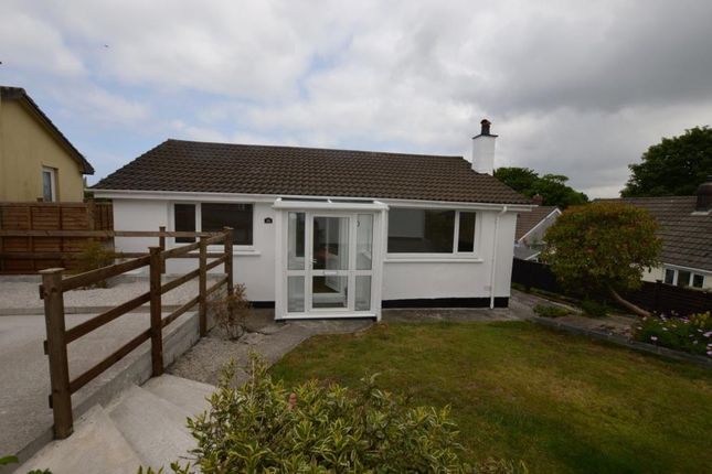 Thumbnail Detached bungalow to rent in Bellever Parc, Camborne, Cornwall