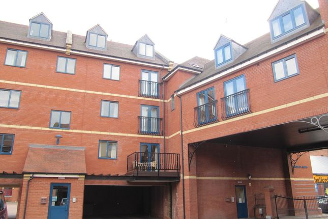 Thumbnail Flat to rent in Magdala Court, The Butts, Worcester